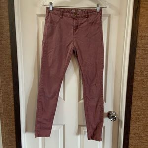 Cotton On Mauve The Jegging Mid-Rise Pants size 6